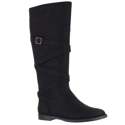 Easy Street Women's Memphis Plus Mid Calf Boot,