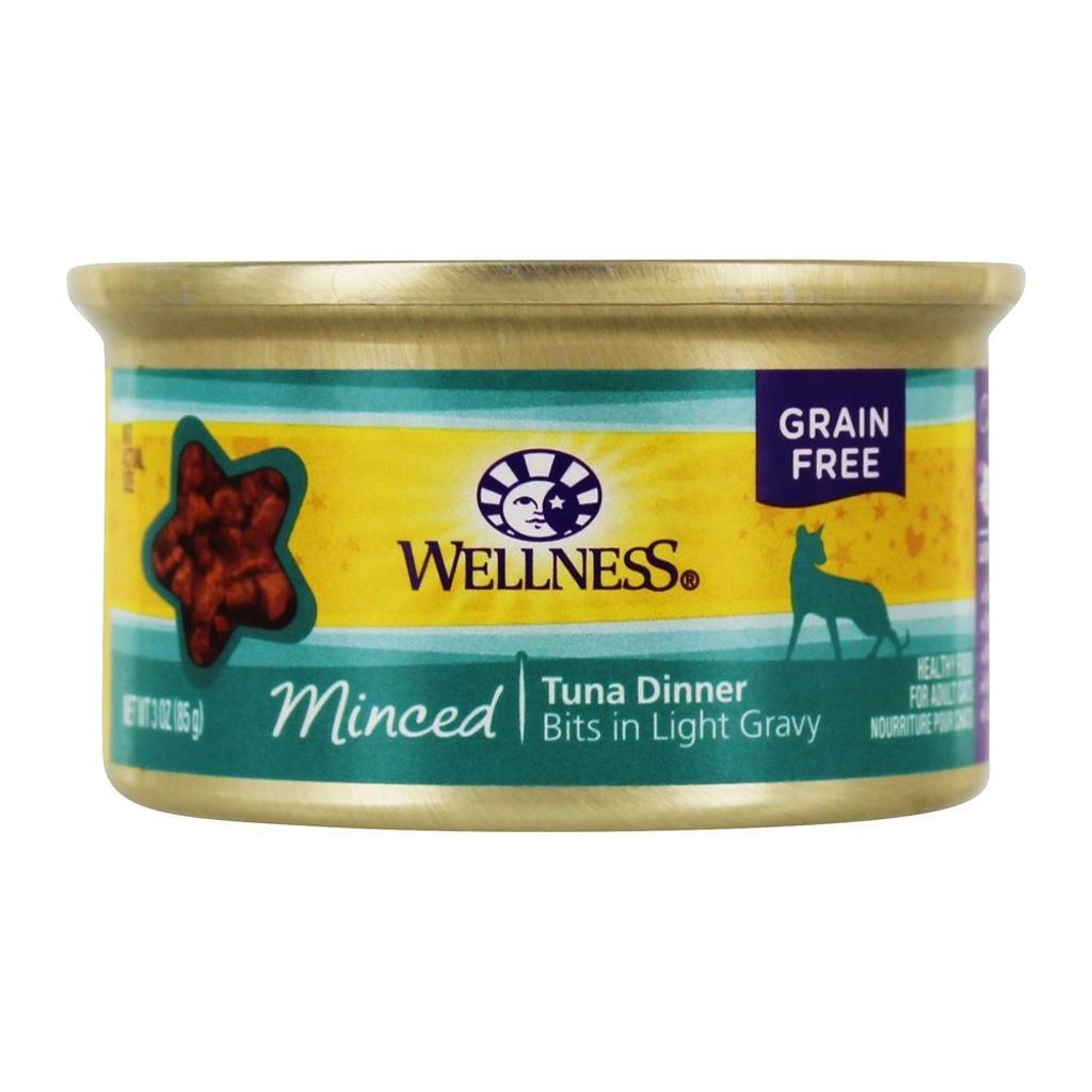Wellness Pet - Grain Free Minced Dinner Adult Cat Food Tuna