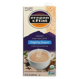 Oregon Chai Original Chai Tea Latte Concentrate - Slightly Sweet - Case of 6 - 32 Fl oz.