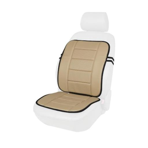 Comfort Products 60-287008B Faux Leather Full Seat Cushion - Beige - 0.78 x 40.55 x 18.5 in.
