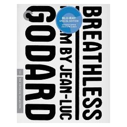 Breathless (blu ray) (ws/1.33:1/b&w) BRCC2706