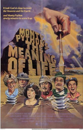 Monty Python's The Meaning of Life Movie Poster (11 x 17) WZ7N8D85IGQQB4UE