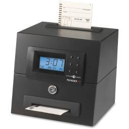 Pyramid time - strategic 5000hd 5000hd heavy duty auto time clock takes tedious manual calculations off the to-d