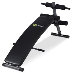 Adjustable Arc-Shaped Decline Sit up Bench