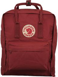 Fjallraven Kanken Classic Fabric Backpack - Deep Red