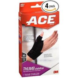 Ace Thumb Stabilizer Adjustable #209632 - 1 ea., Pack of 4