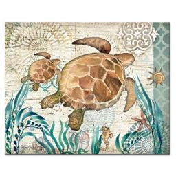 "CounterArt Monterey Bay Glass Cutting Board, 15"" x 12"""