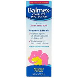 Balmex Diaper Rash Cream - 4 oz, Pack of 3