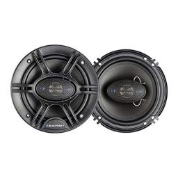 Blaupunk GTS655M 6.5 Inch 250W Slim Line, 4 Way Coaxial Car Audio Speaker, Set of 2