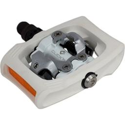 SHIMANO PD-T400 CLICK'R Clipless Pedals (White)