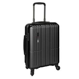 Traveler's Choice Wellington Polycarbonate Durable Hardshell Expandable 21-inch Carry-On Spinner Luggage Suitcase with Interior Divider System, Gray