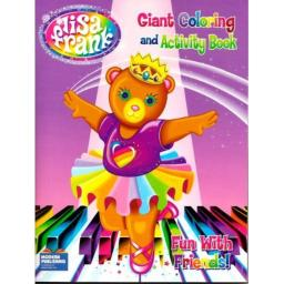 Lisa Frank Giant Coloring and Activity Book ~ Fun With Friends! (Bear)(96 Pages)
