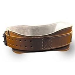 """4.75"""" Power Leather Lifting Belt in Natural Leather Size: XL (40"""" - 45"""")"""