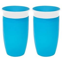 Munchkin Miracle 360 Sippy Cup, Blue, 10 Ounce, 2 Count