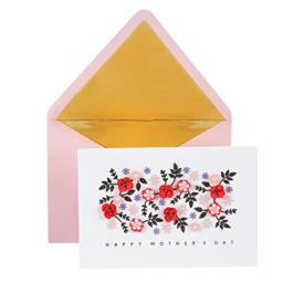 Hallmark Signature Mother's Day Card (Cut Paper Flowers Have a Wonderful Day)