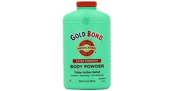 Gold Bond Extra Strength Triple Action Relief Medicated Body Powder 10 0unce Pack of 2 Gold Bond Extra Strength Triple Action Relief Medicated Body Powder 10 Oz (2 Pack)
