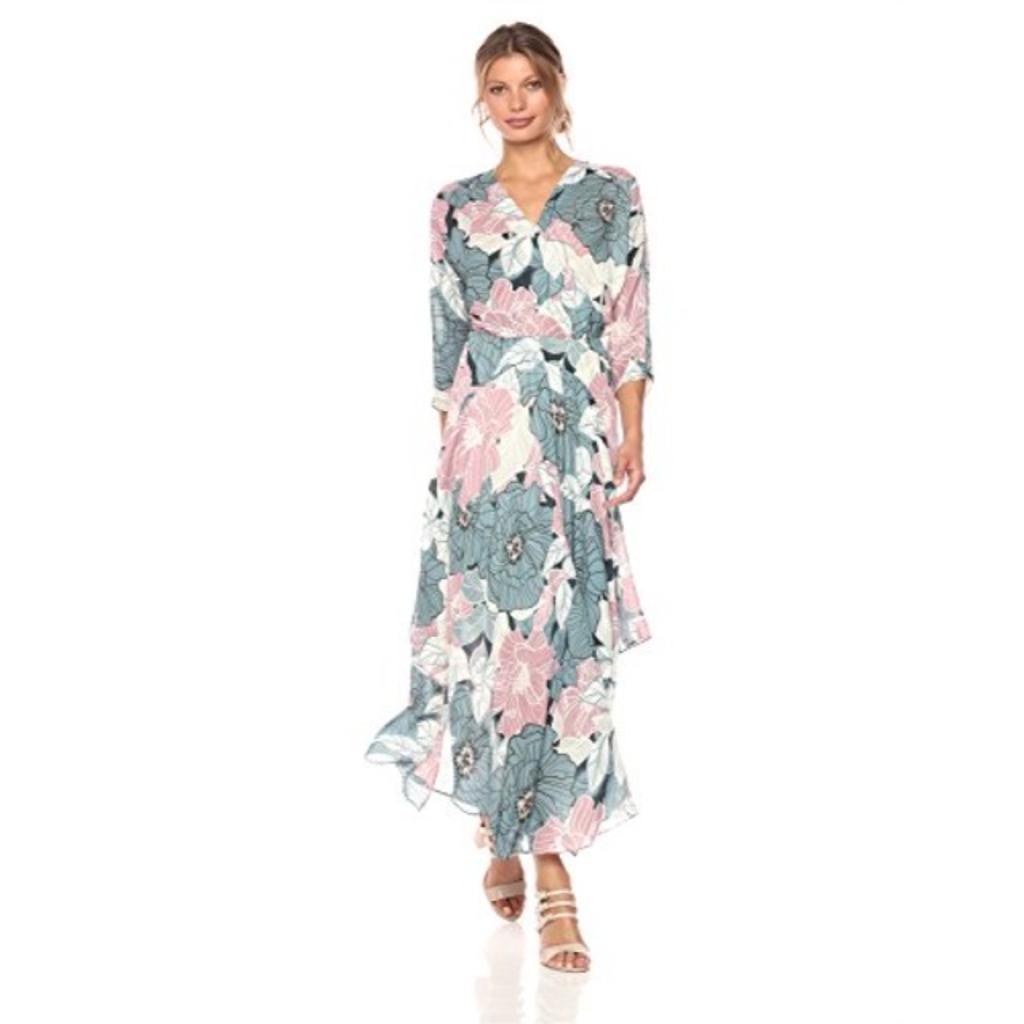 CATHERINE CATHERINE MALANDRINO Women's Larissa Dress-Floral, Sketchy, 10