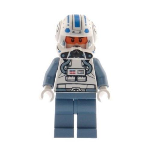 Captain Jag - LEGO Star Wars Minifigure Includes all pieces shown!