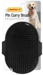 Palm Pin Curry Brush For Dogs & Cats- 19781