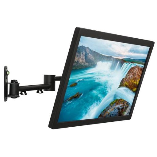 Mount-It MI-4151 13-42 in. LCD TV Wall Mount Bracket with Full Motion Swing Out Tilt & Swivel Articulating Arm for Flat Screen Displays