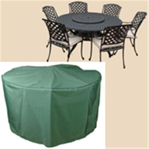 Bosmere C523 108 Inch Round Table and Chairs Polyethylene Cover