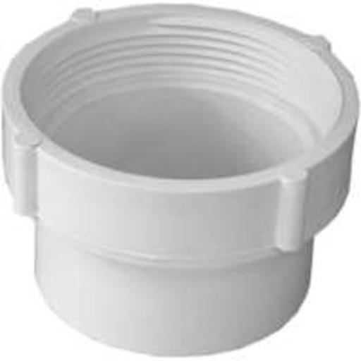 Genova 41629 Sewer & Drain Fitting Cleanout Adapter, 3