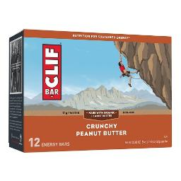 Clif Energy Bars Crunchy Peanut Butter 12 Pack