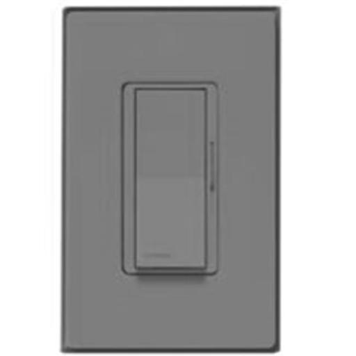 Lutron Electronics DV-600PHW-BLSS Diva Dimmer 600W Black With Stainless Steel Wallplate