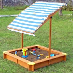 Merry Products SND0032210010 Sandbox with Canopy