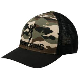 Browning 308375292 browning 308375292 cap, branded camo s/m