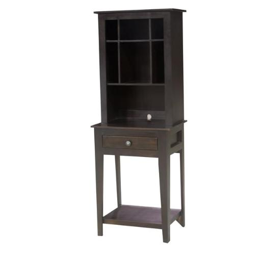 Eagle Furniture 12101NGAS-12102NGAS 31 in. Accent Table & Hutch, Autumn Sage