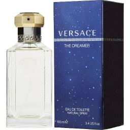 DREAMER by Gianni Versace EDT SPRAY 3.4 OZ for MEN ---(Package Of 2)