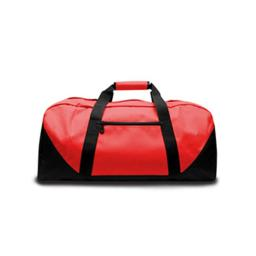 Liberty Bags 2251 Medium Game Day Duffel - Red, One Size