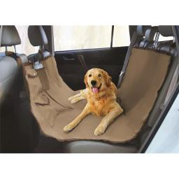 Yes Pets 59-90294TAN Oxford Waterproof, Tear Proof Hammock Style Car Seat Cover - 100 Percent Polyester, Tan