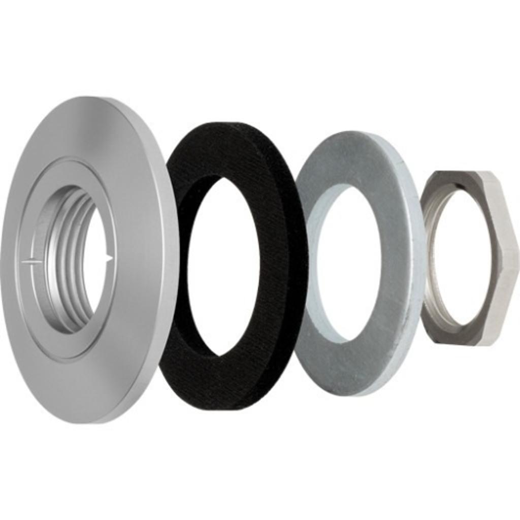 Axis communication inc 5507-111 10pk f8212 trim ring for f10-e