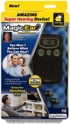 Magic Ear - Personal Sound Booster by BulbHead