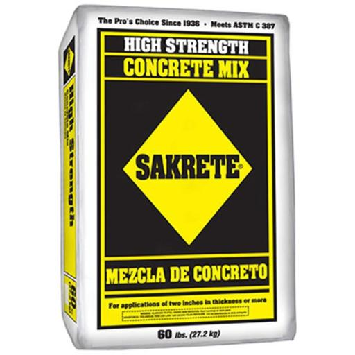 Sakrete 65200940 60 lbs. Concrete Mix