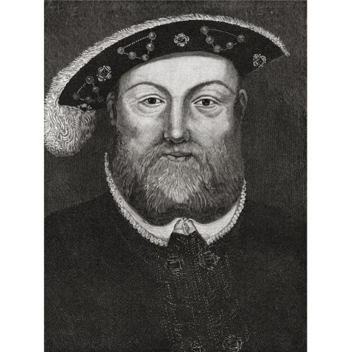Posterazzi DPI1877695 Henry VIII, 1491 to 1547 King of England From The Book Short History of The English People by J.R. Green Published London 1893 P