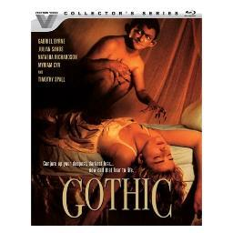 Gothic (blu ray) (ws/eng/eng sdh/5.1 dts-hd) BR53725