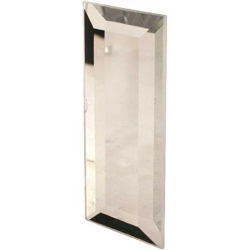 Prime-Line Products 40 9563 Mirrored Glass Self-Adhesive Finger Pull 2 Per Pack