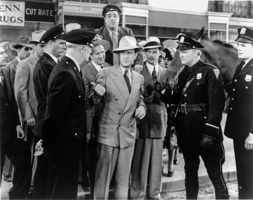 Abbott & Costello Group Picture with Policemen Photo Print