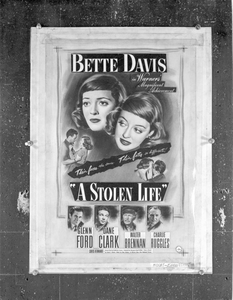 A Publicity Poster For A Stolen Life Photo Print
