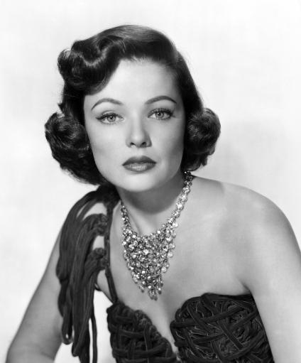 Gene Tierney Late 1940S-Early 1950S Photo Print