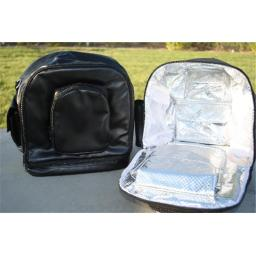 Icy Diamond Totes IDT1215-2-01 Icy Diamond Tote Backpack- Black