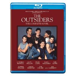 OUTSIDERS-COMPLETE NOVEL EDITION (BLU-RAY) 883929272495