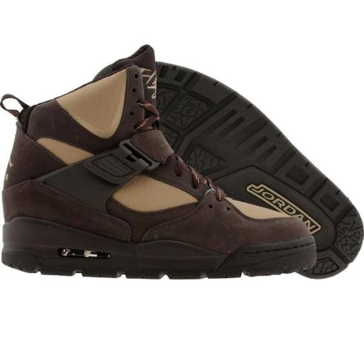 hot sale online 5ac4b 55259 Jordan Flight 45 TRK velvet brown   khaki   dark copper (467929-204) sz 5.5y