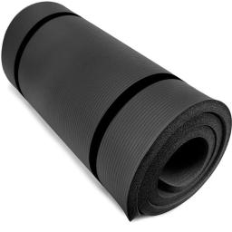 Brybelly SYOG-091 Ultra Thick 1 in. Yoga Cloud, Black