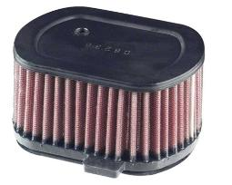 K&N High Flow Replacement Air Filter - Black YA-4092
