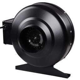 """Yescom 4"""" Inline Duct Exhaust Fan 4inches Hydroponics Cooling Vent HO 2580RPM Air Ventilation Blower"""
