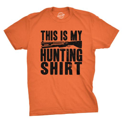 Mens This Is My Hunting Shirt Funny Deer Wildlife Country Living T shirt thumbnail
